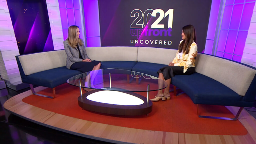 Upfront Uncovered – Seven's Katie Finney with Linda Fagerlund, Carat