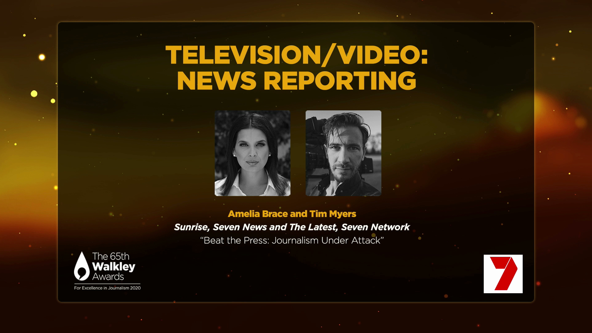 7NEWS US Bureau recognised with Walkley Award for Excellence in Journalism