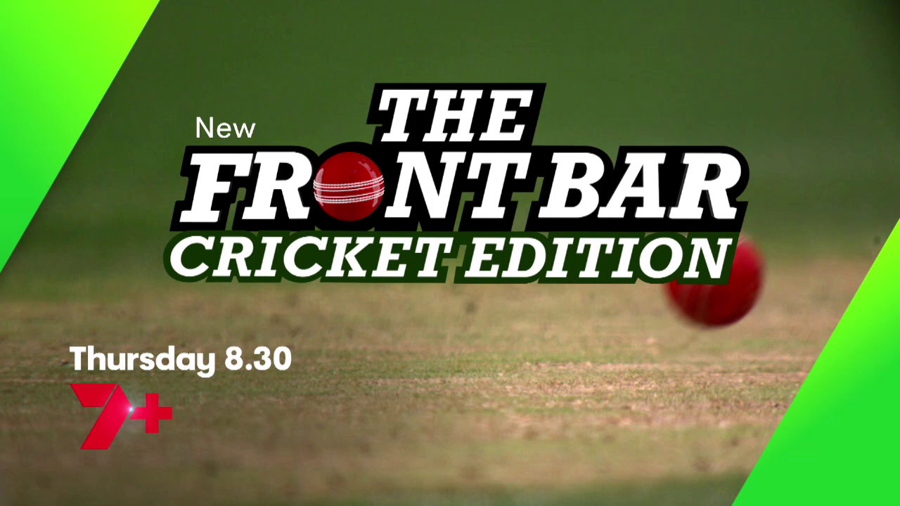 Front Bar pads up for two cricket specials