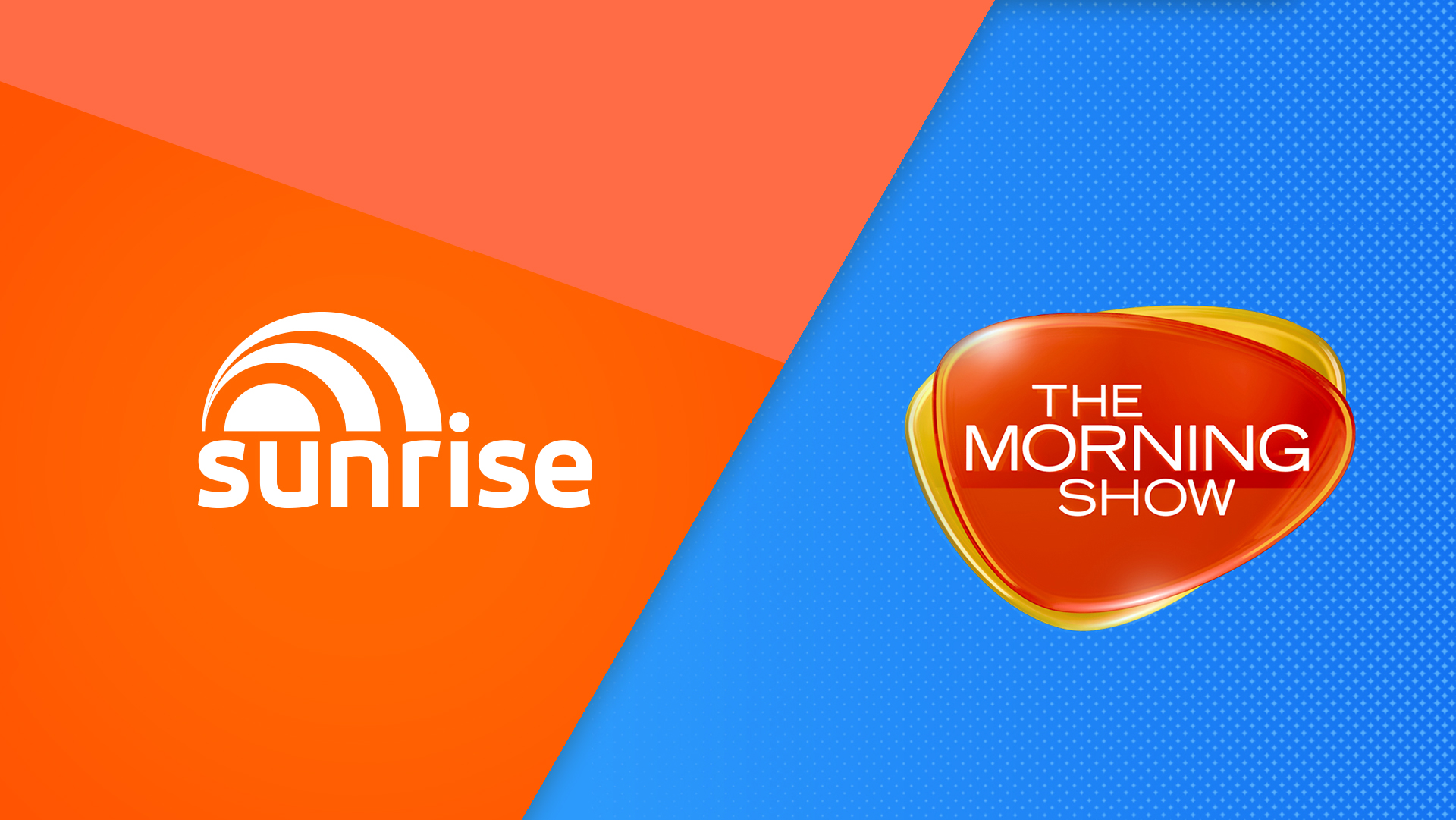 Sunrise and The Morning Show on top