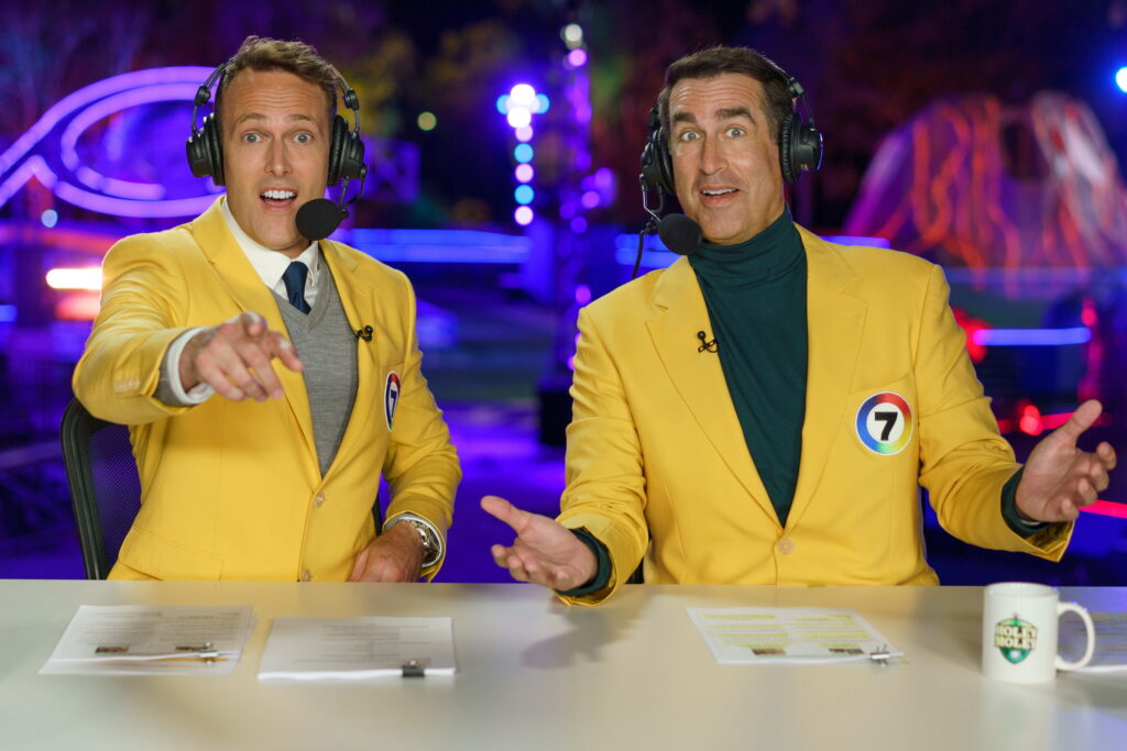 Matt Shirvington and Rob Riggle